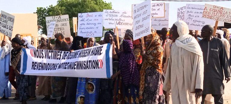 Tchad : les victimes d'Hissène Habré marchent pour réclamer réparation