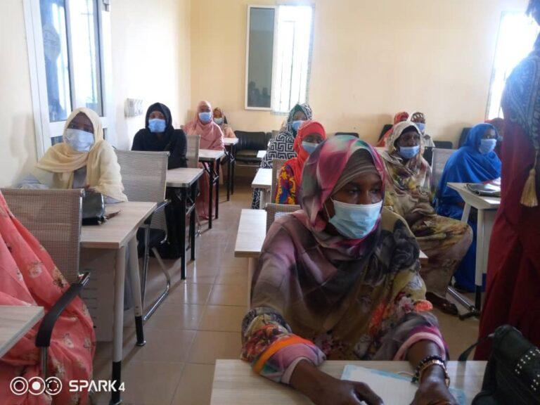 """المجتمع: """"مشاركة المرأة في القيادة"""" عنوان ورشة جمعت نساء """"دار وداي"""" بصفة عامة"""