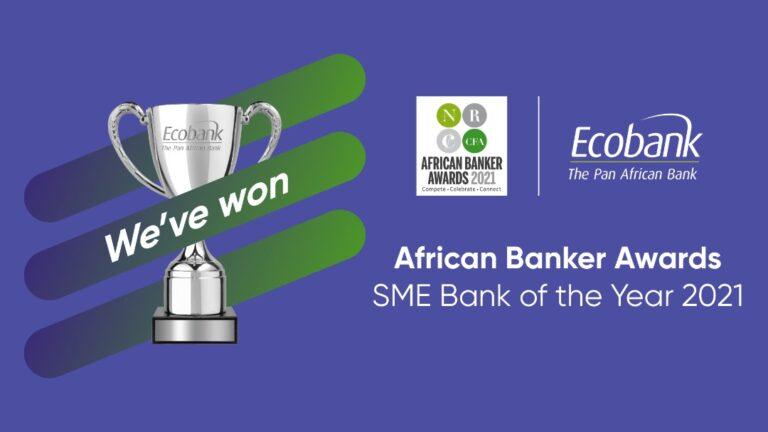 Le Groupe Ecobank désigné Banque des PME en Afrique