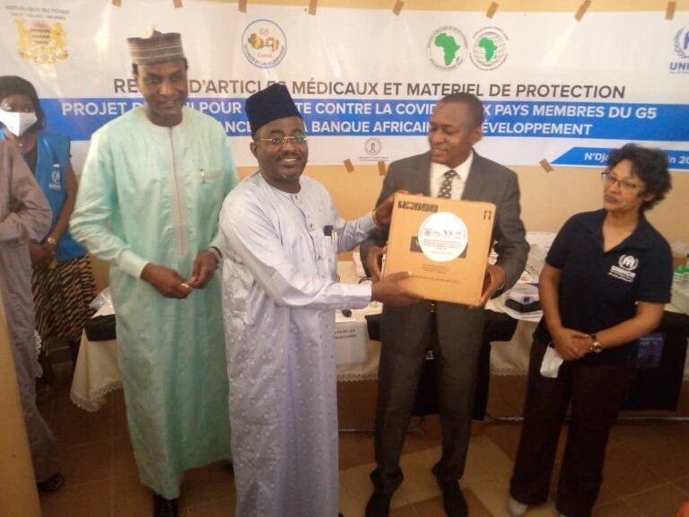 Tchad: des articles médicaux et matériels de protection pour lutter contre la Covid-19