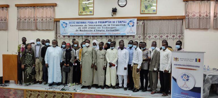 Tchad : 100 jeunes formés en techniques de recherche virtuelle d'emploi