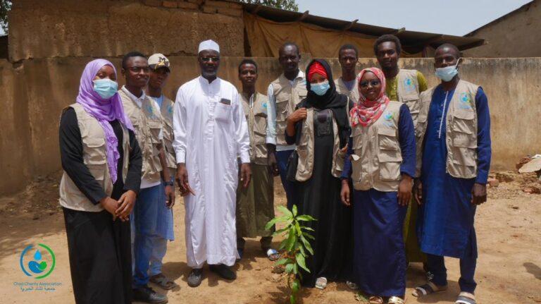 """Chad charity association"" lance une campagne de reboisement à N'Djamena Fara"
