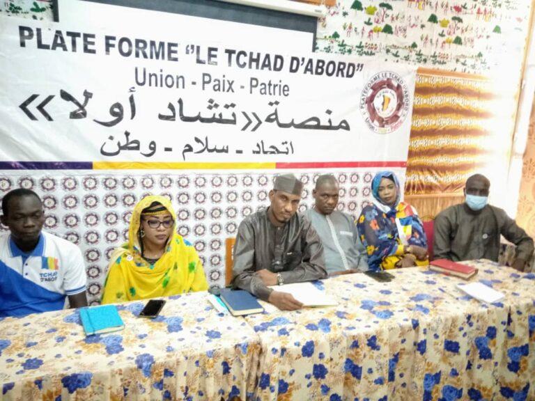 """Transition : """"Tchad d'abord"""" appelle le CMT à un dialogue inclusif total"""