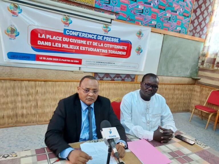 Tchad : le MOCINT plaide pour l'enseignement du civisme à l'université