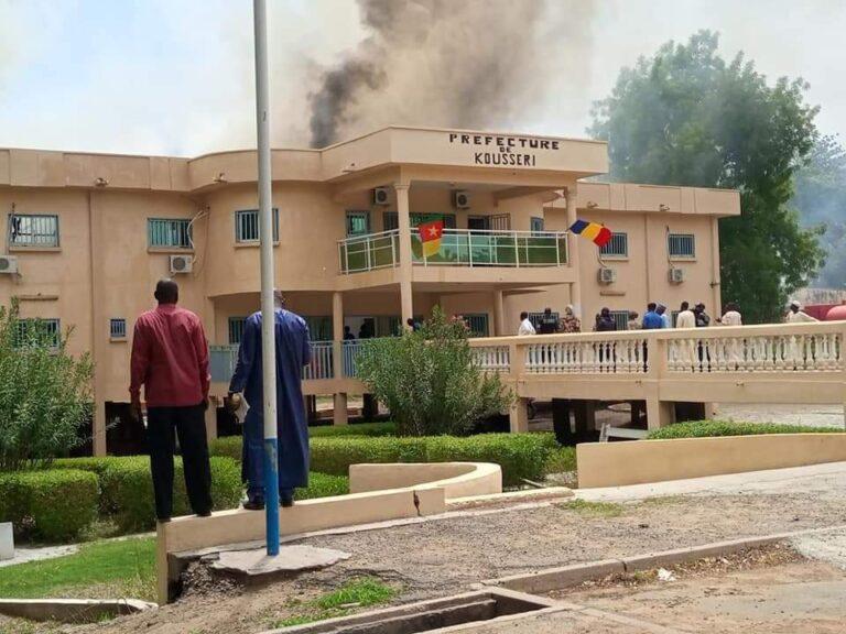 Incendie : la préfecture de Kousseri a pris feu