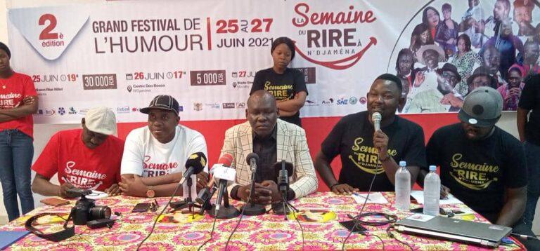 """Le festival """"la semaine du rire à N'Djaména"""" s'ouvre le 25 juin"""