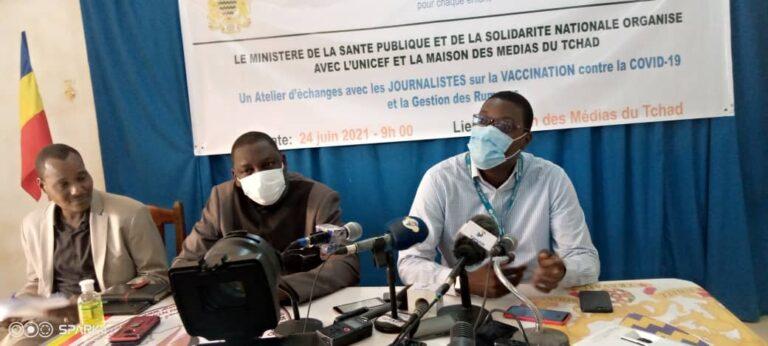 Tchad : la Maison des médias et l'UNICEF évaluent 6 mois de partenariat
