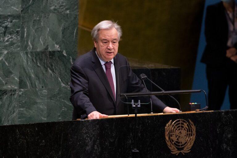 Antonio Guterres a le soutien du Conseil de sécurité de l'ONU pour un second mandat