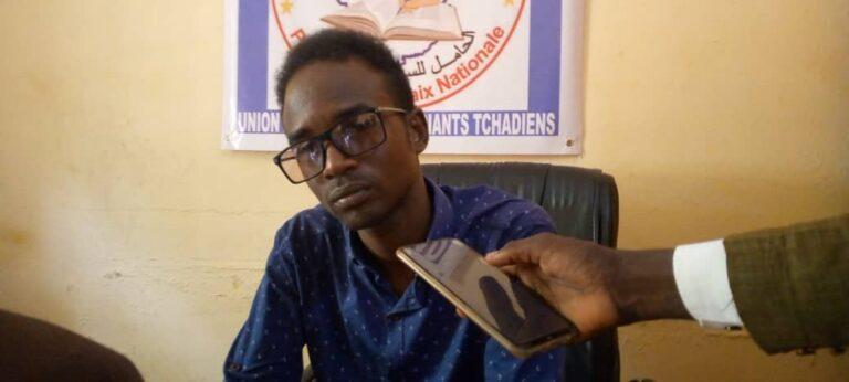 """Tchad: """"Nous allons relever le défi"""", Yaya Barkaï Mahamat, nouveau secrétaire exécutif de l'UNET section de N'Djamena"""