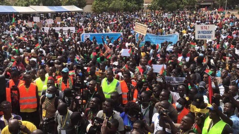 Burkina : des manifestations contre la dégradation de la situation sécuritaire