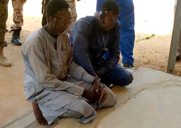 Deux présumés malfrats arrêtés à Ati