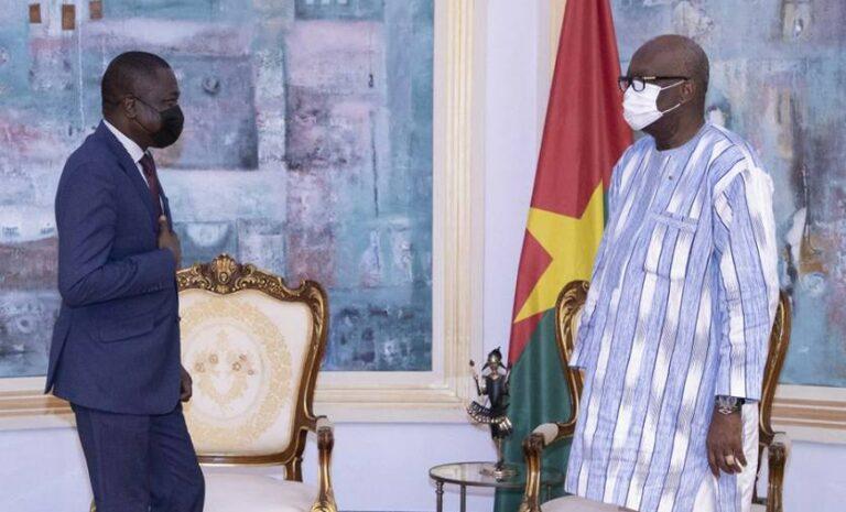 Le président du Faso accorde une audience au directeur général du FAGACE, Ngueto Tiraïna Yambaye