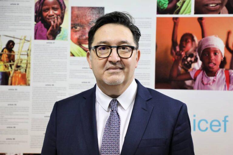 Jacques Boyer, nouveau Représentant de l'UNICEF au Tchad