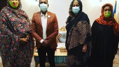 """Tchad : le """"Young Ambassador"""" Adam Ismaël reçu par la Première dame"""