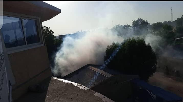 """تشاد: مقر حزب """"المحولون""""، يتعرض لإطلاق الغاز المسيل للدموع"""