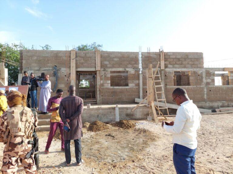 Construction à Abéché d'un laboratoire d'analyse de la qualité des eaux au profit de trois provinces