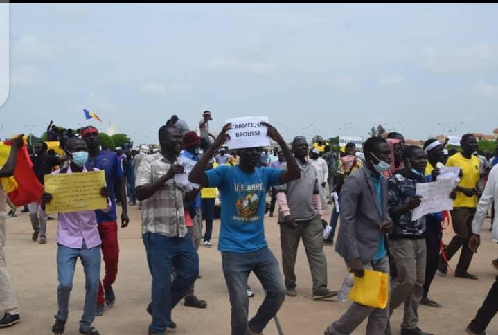 """Tchad : le ministre de la Sécurité publique dénonce des """"troubles"""" à l'ordre public lors de la marche d'hier"""