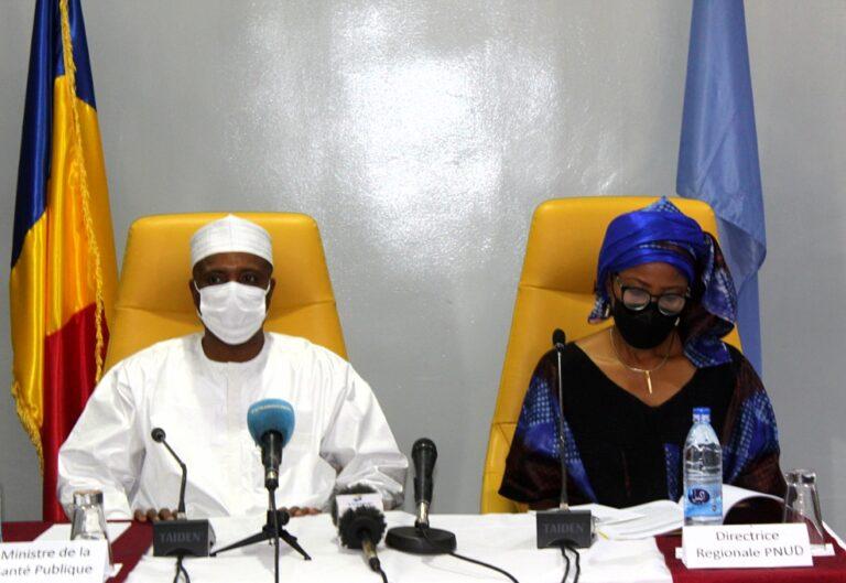 Tchad : le PNUD remet 40 milliards au ministère de la Santé publique